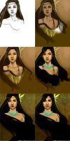 Pocahontas Progression by jtgraffix