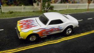 Heavy Chevy White with Flames by hankypanky68