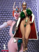 Queen Marlena for Gore57 by Chup-at-Cabra