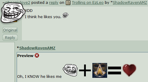 Trolling on SRAMZ by ShadowRavenAMZ