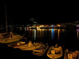 Hersonissos by Night 2 by CKPhotos