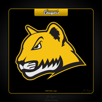 Commack Cougars Alternate Logo by jmkmets