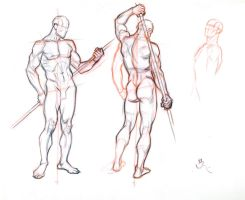 FIGURE DRAWING WITHOUT A MODEL 2 by AbdonJRomero