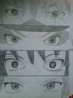 Team 7 eyes by Haku-in-the-snow