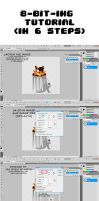photoshop 8-bit-ing tutorial by MidnightMeowth