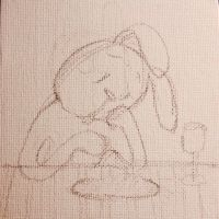 Rabbits Fast food_Process by rubyruby0729