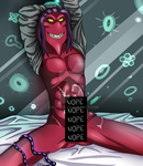 Big Daddy Thrax is a naughty virus by EtoileTan