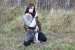 Overlit: Knight maiden stock by LetzteSchatten-stock
