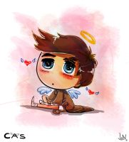 Castiel SuperNatural For Pecora-Dolce by JohnWRoberts