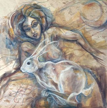 Woman To Hare by meddevi