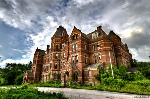 Hudson River State Hospital Ext by pewter2k