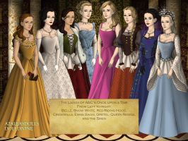 The Ladies of ABC's Once Upon a Time by nickelbackloverxoxox