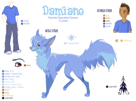 . : Damiano Ref Sheet : . by stolenimages