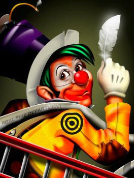 the clown by wryfrancis