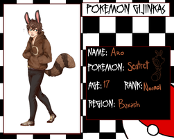 PokeG- Aro the Sentret by Hawst-r