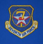 7th Air Force Patch by F16CrewChief