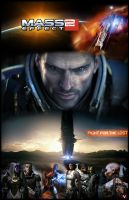 Mass Effect 2 Characters by HardNocks