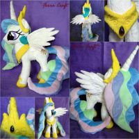 Princess Celestia plushie for Sale by FerraCraft