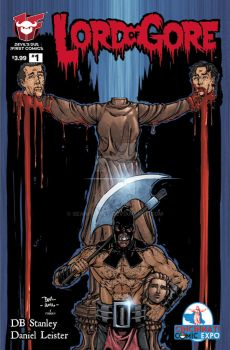 Lord of Gore Cinci Comic Expo Exclusive cover by seanforney