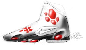 another nike basketball shoe design by chrislah294