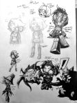 Celcia Sketches [Phone Quality] by Advent-Axl