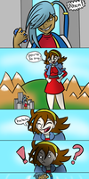 Giantess Growth Fight by Mew-tew