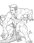 Evan_Pit_Fighter_by_Lehosh by Lehosh