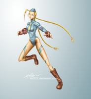 Killer Bee (Cammy) by DigiFlohw
