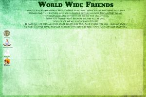 World wide friends by Avrodite
