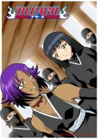 Yoruichi and Soi Fon by Anime-Dude