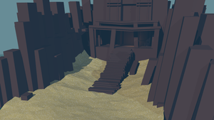 Low poly Landscape (wip) by lithium-sound