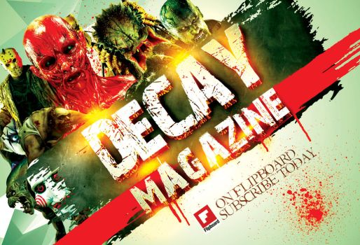 Decay Mag Flyer by dans-obscurite