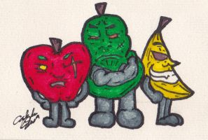 Fruit Trio by csys-279