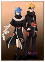 Konan nd Pein - UltiMate TeaM by NightElfPriestess