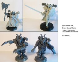 Champions of Chaos, Unpainted Conversions by chaotea