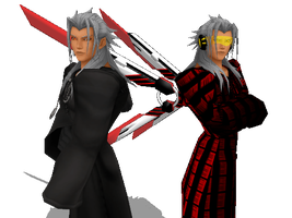 Two Sides - Xemnas by xemnas-reshiram-fan