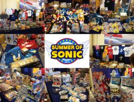 Summer of Sonic 2013 Merchandise Stand by MizukiiMoon