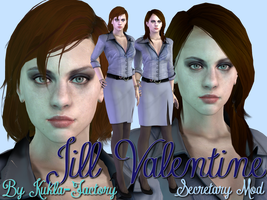 Another Secretary Jill Valentine by Kukla-Factory