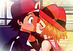 Ash and Serena: One Last Kiss Goodbye - AMOURSHIP by ChibiRainbowStarr