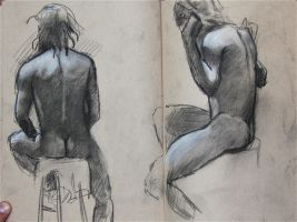quick nude studies by humblestudent