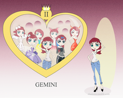gemini by ShamAnn366