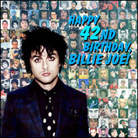 Happy 42nd Birthday, Billie Joe! by Let-Yourself-Flo