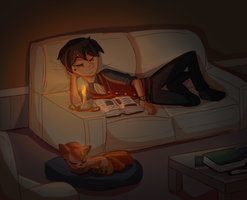 [HM] late nights by Davespryte