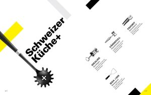 Swiss Design Style Catalogue Product Intro Page by Fortelegy