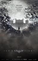The Dark Knight in the style of Dracula Untold by ryansd