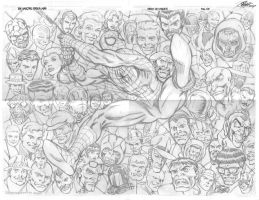Spiderman pencils by macart1