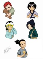 Naruto stickers by RockGaara