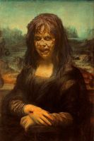 THE EXORCIST MONALISA by Darkness-Man