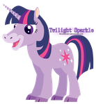 Twilight Sparkle - Happy Pets by RavenEvert