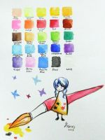 Colour Chart by YXinn